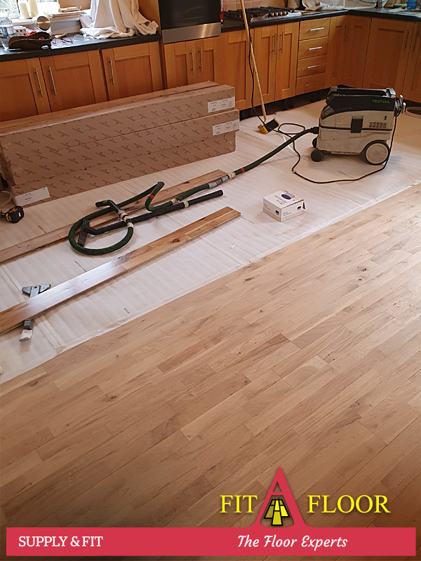 Junkers hardwood floor fitting Naas Kildare
