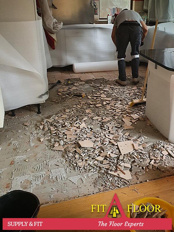 Transform kitchen floor Rathfranham Dublin