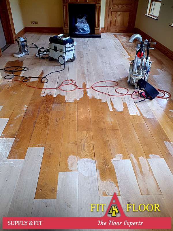 Manor House Kildare existing French oak floors
